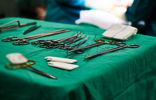 Discolouration of Surgical Instruments