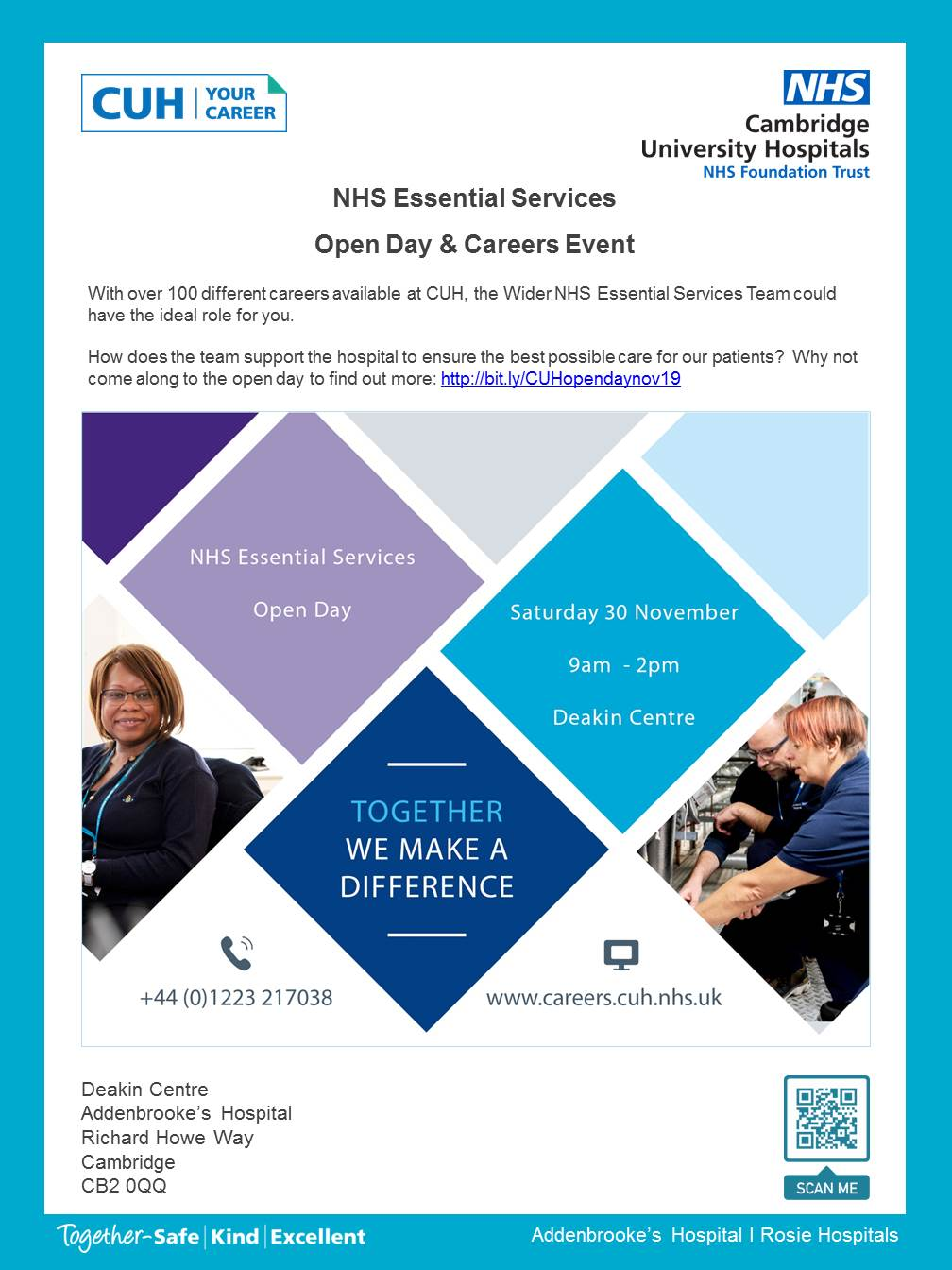 NHS Essential Services Open Day